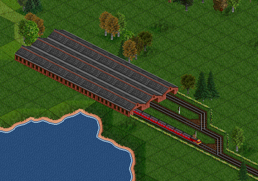 Bigger Depots can be created by placing depot tiles side-by-side...