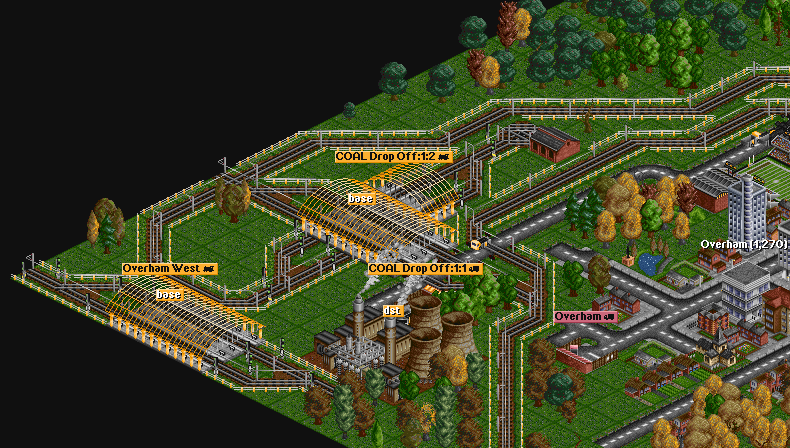 Build rail station multiple times