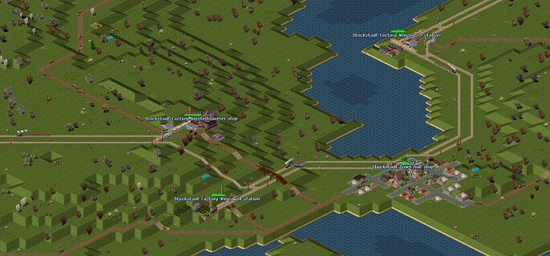 Finally, from 1844, the more powerful Bay. AI replaced the Adlers, leading to more goods transported with less trains.