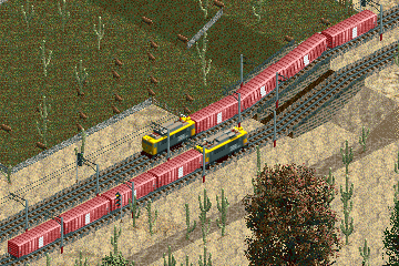 Screenshot, with two new locomotives.