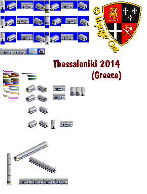 Greece Thessaloniki 2014 to demonstrate alignments. It's an 6/8 vehicle