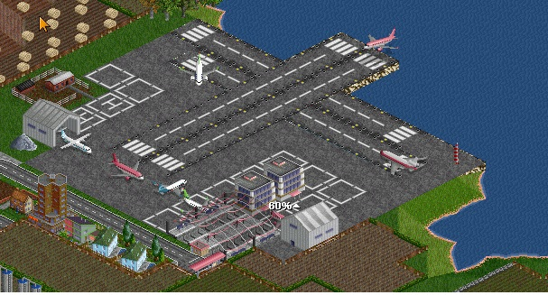 SFO airport, Ive designed a terminal using the same maglev station as in previous.