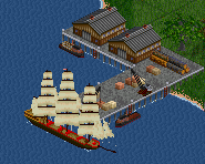 Wharf and clippership.png