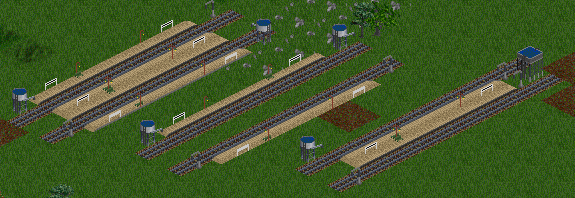 Country Stations with Low Platforms