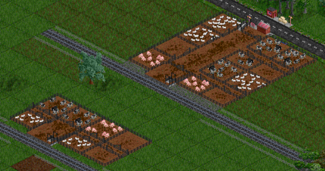 New Livestock Sale Yards with Platforms and Truck Loading Bay.png
