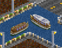 accumulator boats available from 1910 with a capacity of 20~25 passengers (no freight boats yet ...)