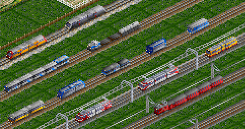 Some rolling stock, year 2015
