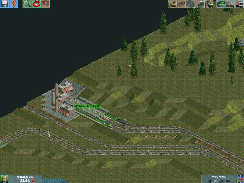The animal processing plant has a loading line for food trains added