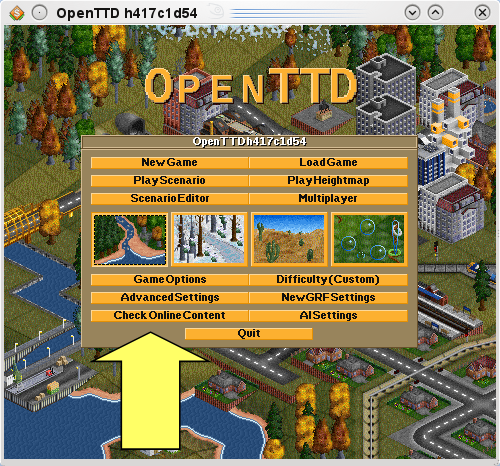 OpenTTD Home Display