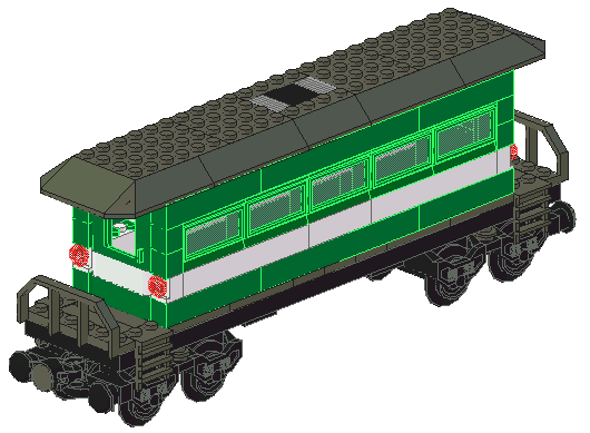 LEGO Old Coach (preview)