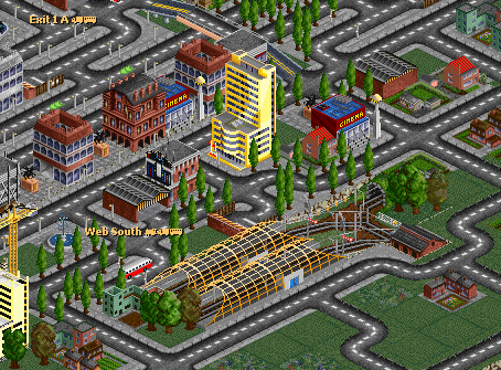 Suburban Station in  Web City