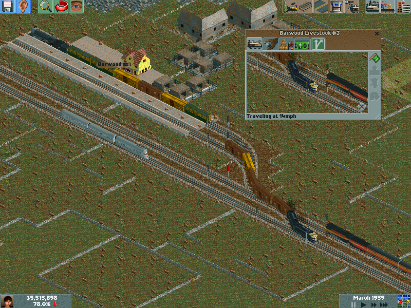 Pioneer Zephyr and SP Daylight wait for mainline to clear.PNG