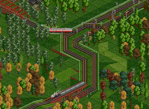 Pfungbruck Southern Junction, Spring 1946.png
