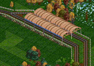 Preview over a normal rail track.