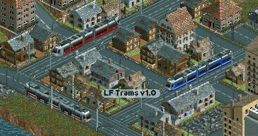 Low-floor Trams v1.0 ingame